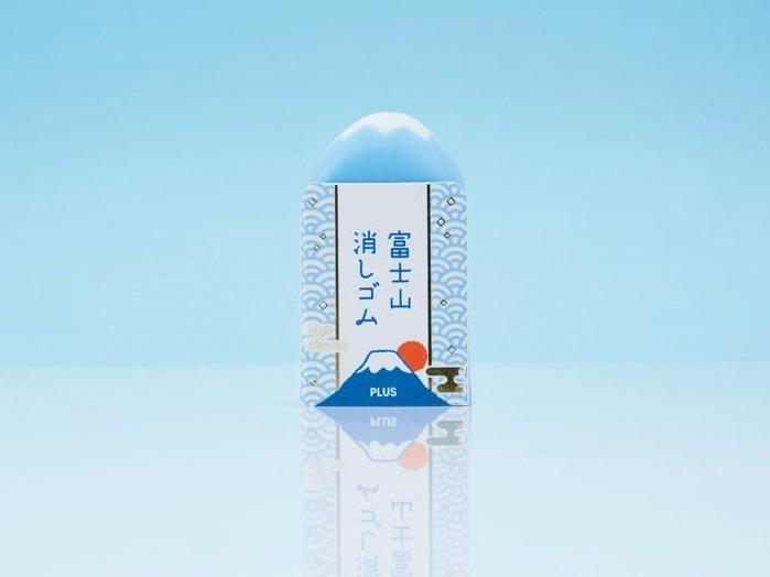 <大賞>プラス「エアイン 富士山消しゴム」