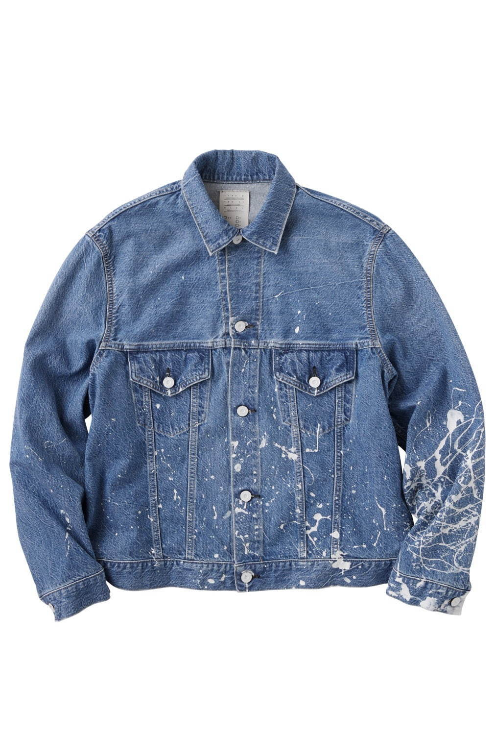 KARLA PAINT DENIM JACKET 28,000円+税
