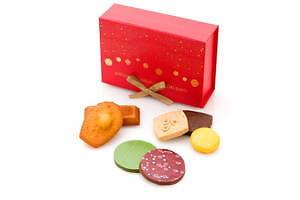 サダハル・アオキのクリスマス2020、ピスタチオ×ショコラのモミの木型ケーキ&イチゴのマカロンケーキ 画像9
