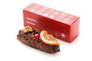 サダハル・アオキのクリスマス2020、ピスタチオ×ショコラのモミの木型ケーキ&イチゴのマカロンケーキ 画像13