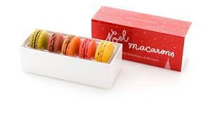 サダハル・アオキのクリスマス2020、ピスタチオ×ショコラのモミの木型ケーキ&イチゴのマカロンケーキ 画像11