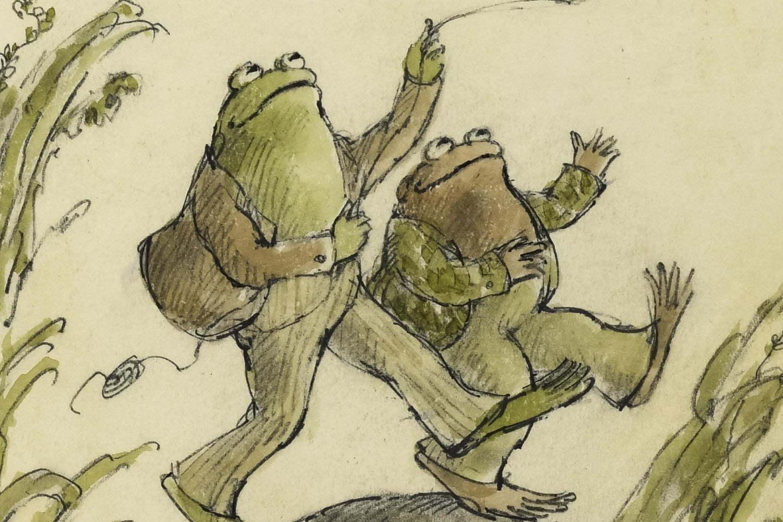 """""""がまくんとかえるくん""""絵本作家「アーノルド・ローベル」展が東京・広島で、原画など約200点"""