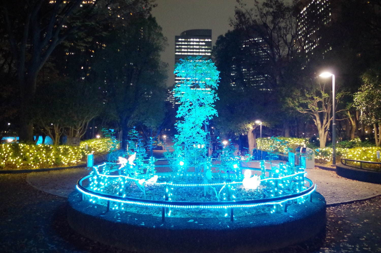 新宿中央公園で「SHINJUKU HIKARI」イルミネーションや体験型ナイトウォーク