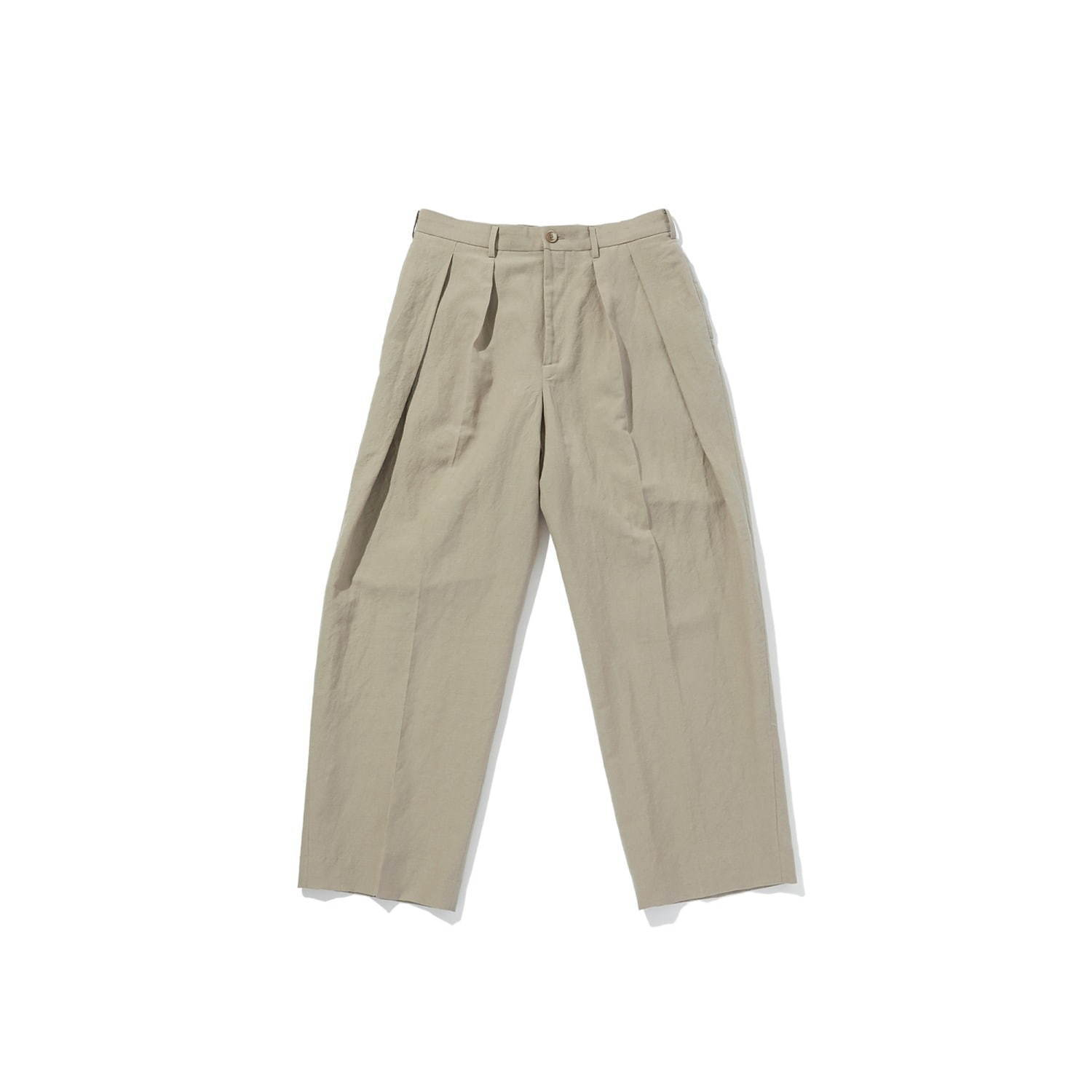 WIDE TAPERED PANTS 45,000円+税