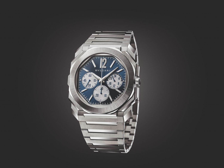 「オクトフィニッシモ S クロノグラフ GMT ステンレススティール」1,820,000円+税(予価)