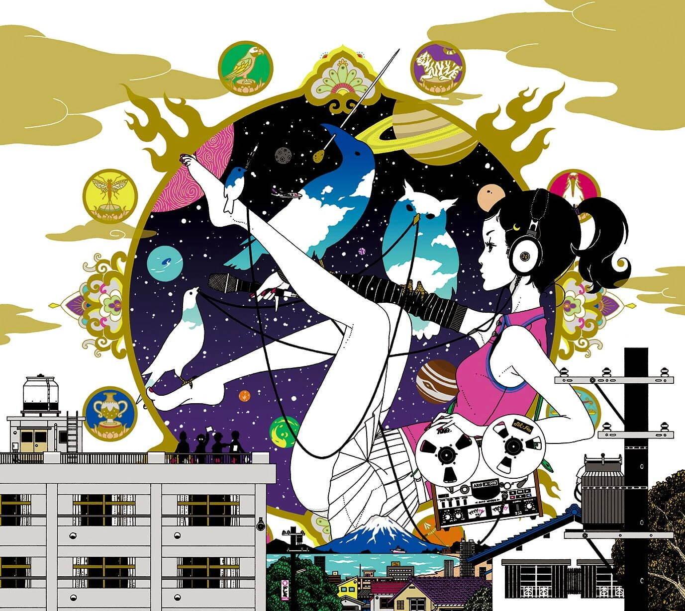 中村佑介の展覧会が金沢21世紀美術館で開催 作品総数430以上 その仕事のほぼ全てを網羅 ファッションプレス