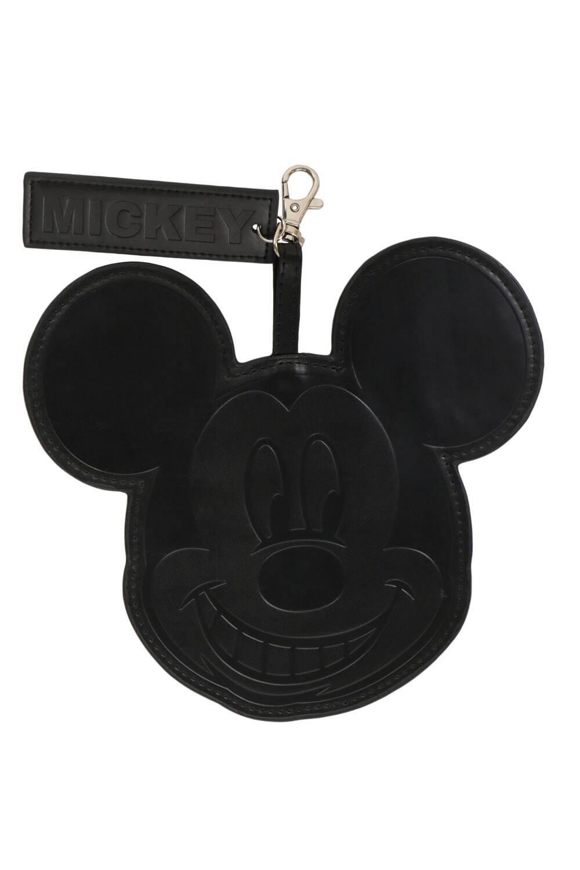 ミッキーマウスの顔をしたパスケース