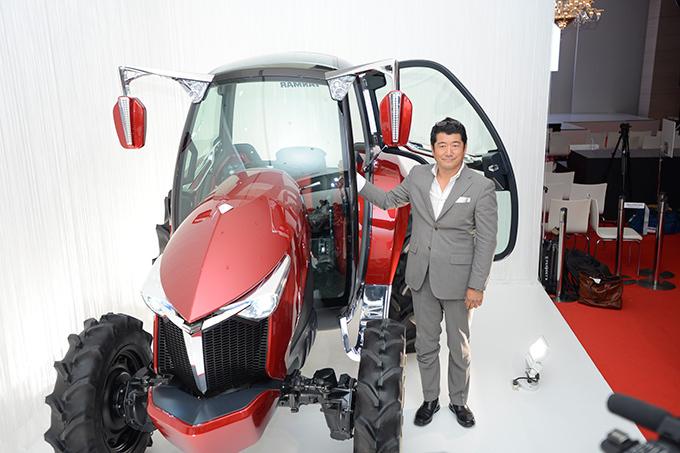 ヤンマー、滝沢直己を迎え新コンセプトの農業ウェア - マンU香川も発表会に登場の写真11
