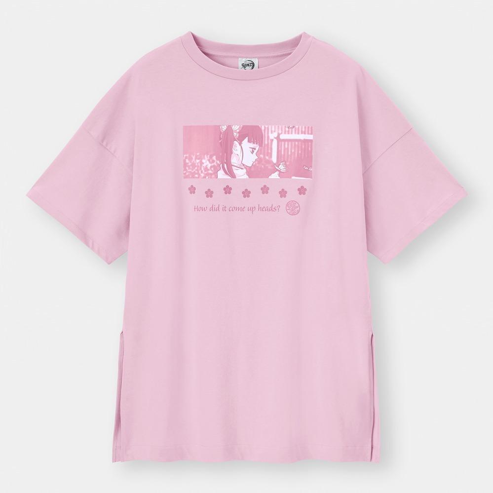 GU×アニメ『鬼滅の刃』Tシャツ&ルームウェア、胡蝶三姉妹や煉獄杏寿郎モチーフ - 写真5
