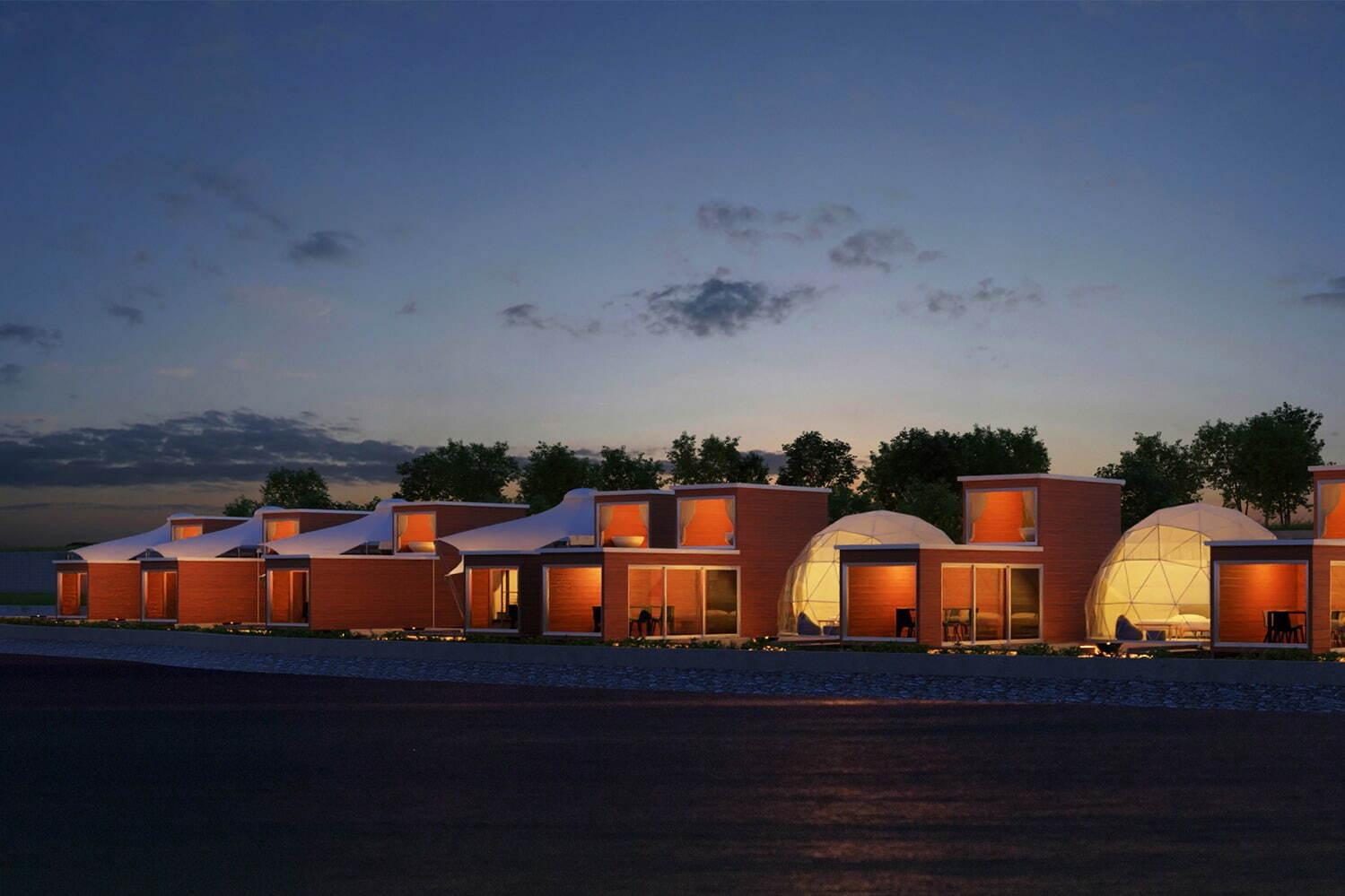 「グランマーレ 淡路」全棟客室温泉付&オーシャンビューグランピング、各テントに専用ガーデンも 写真4