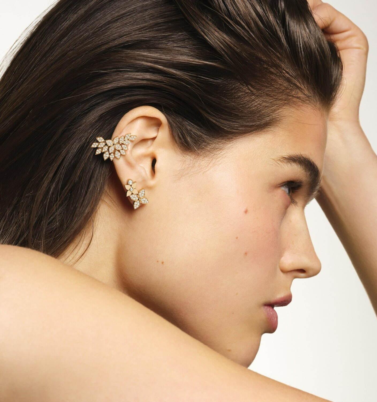 イヤリング(片耳) ピンクゴールド ダイヤモンド 1,265,000円 ©David Ferrua