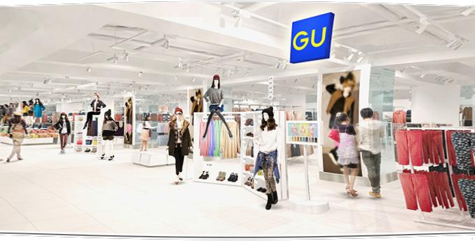 ジーユー ビックロ新宿東口店オープン!ファッションを自由に楽しむ「ワンダークローゼット」登場