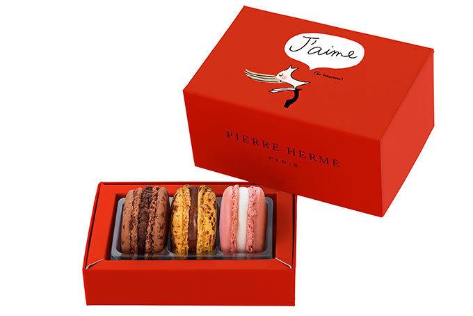 ピエール・エルメ・パリのバレンタイン限定スイーツ , 定番マカロンから新作まで 写真