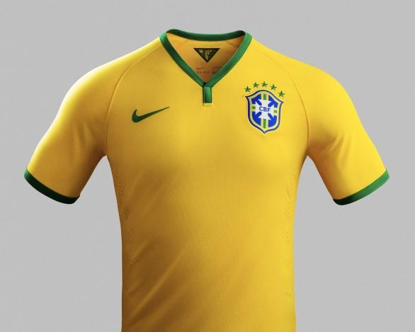 NIKEがサッカー・ブラジル代表の新ユニフォームを発表 - シンプルでソウルフルな、王者の風格の写真2
