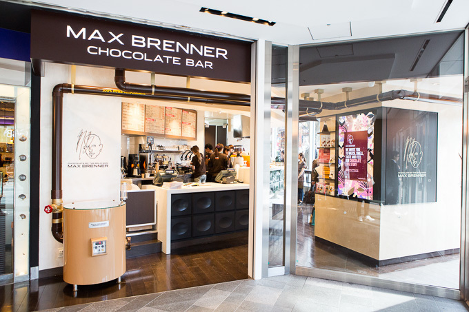 MAX BRENNER CHOCOLATE BAR 表参道ヒルズ店