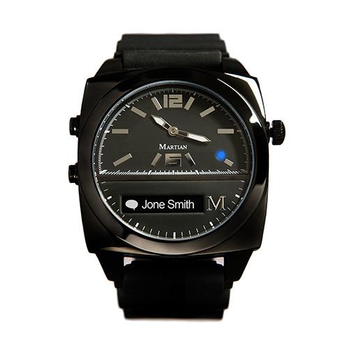 ced7adc313 ... スマホと連動する次世代腕時計「マーシャンウォッチ」 - メール、着信の ...