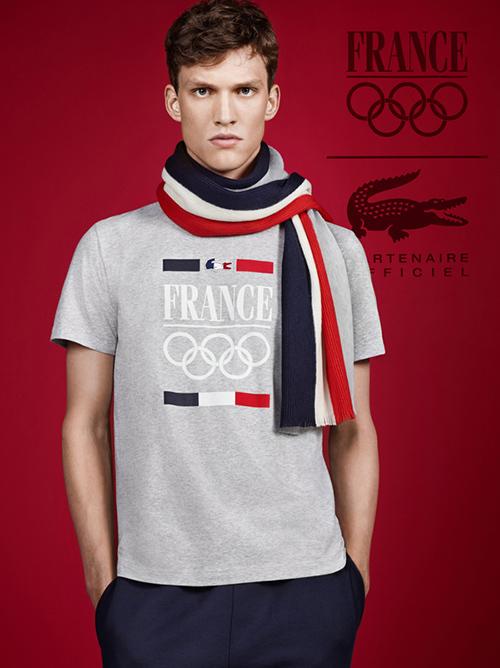 ラコステ、オリンピック仏代表の...