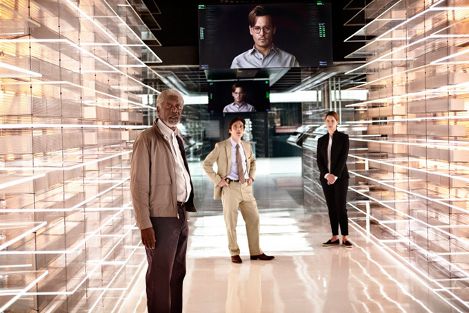 ジョニー・デップ×ノーラン総指揮の最新SF映画『トランセンデンス』