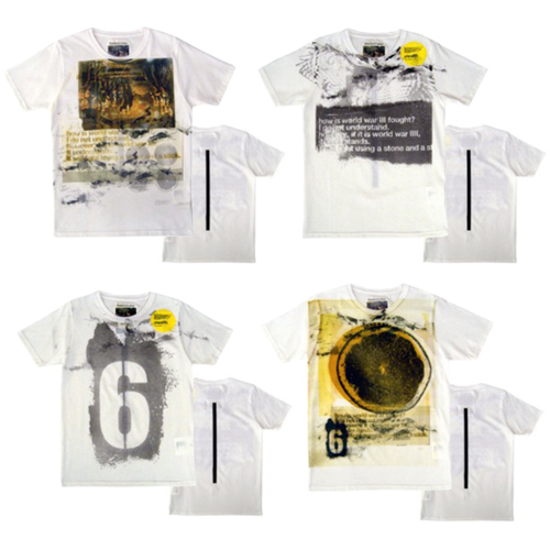 エリミネイターとグラフィックデザイナー守矢 努のコラボレーションTシャツの画像2