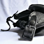 DOUBLE SHOULDER GARMENT-DYED 3PIN-BELT SHOULDER BAG 3