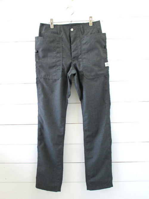 SASSAFRAS(ササフラス)FALL LEAF SPRAYER PANTS T/R PLANE WEAVE CHAR 1