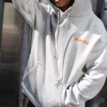 [40%OFF] SELF MADE BY GIANFRANCO VILLEGAS / Oversized hoodie with small selfmade logo 2