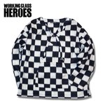 Working Class Heroes Polly Shirt -Checkered Flag 1