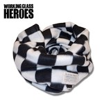 Working Class Heroes Checkered flag Fleece Snood 1