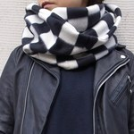 Working Class Heroes Checkered flag Fleece Snood 5