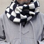 Working Class Heroes Checkered flag Fleece Snood 4