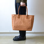 BAG19 Tote Bag - Goat leather - Natural【MOTO】 5