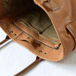 BAG19 Tote Bag - Goat leather - Natural【MOTO】 2