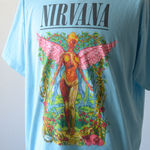 NIRVANA Printed T-shirt - Sax【THRIFTY LOOK】 3