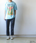 NIRVANA Printed T-shirt - Sax【THRIFTY LOOK】 5