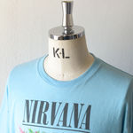 NIRVANA Printed T-shirt - Sax【THRIFTY LOOK】 2