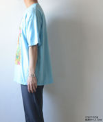NIRVANA Printed T-shirt - Sax【THRIFTY LOOK】 4