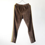 Narrow Track Pant - C/Pe Velour - Brown【Needles】 1