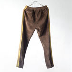 Narrow Track Pant - C/Pe Velour - Brown【Needles】 2