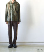 Narrow Track Pant - C/Pe Velour - Brown【Needles】 5