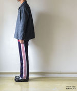 Narrow Track Pant - Poly Smooth - Eggplant【Needles】 4