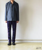 Narrow Track Pant - Poly Smooth - Eggplant【Needles】 5