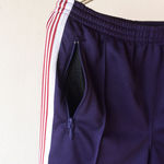 Narrow Track Pant - Poly Smooth - Eggplant【Needles】 2