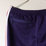 Narrow Track Pant - Poly Smooth - Eggplant【Needles】 3