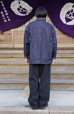 Graphpaper Colorfast Denim Blousonスタイル 5