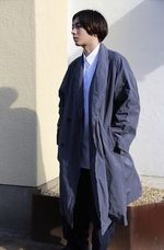 Graphpaper Garment Dyed Shop Coatスタイル 2
