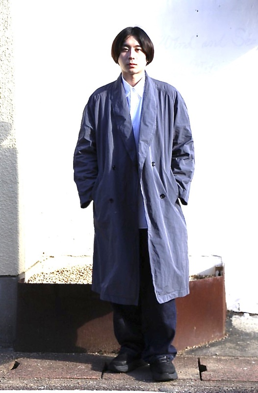 Graphpaper Garment Dyed Shop Coatスタイル 1