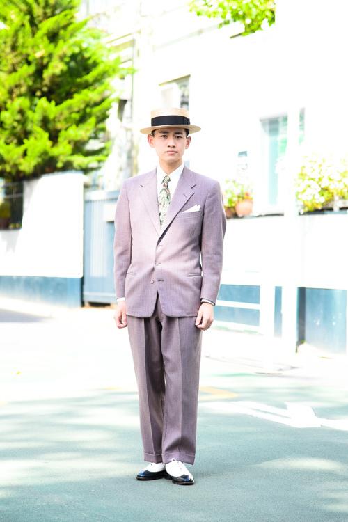 阿部 高大さん 原宿ストリートスナップ - ファッションプレス