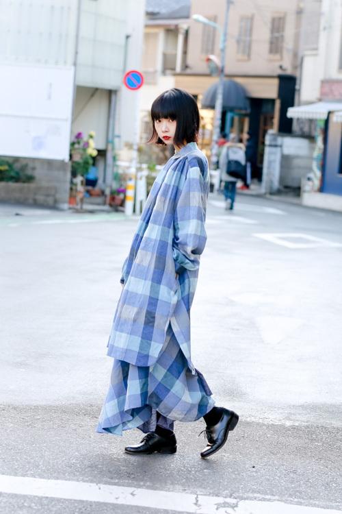 老月 ミカさん 原宿ストリートスナップ